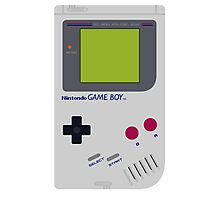 game boy hand held Photographic Print
