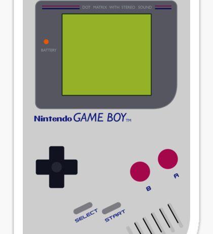 game boy hand held Sticker
