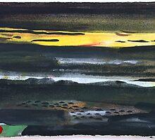 Dark Landscape by John Sheehan