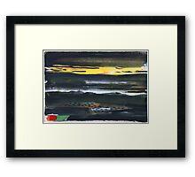Dark Landscape Framed Print