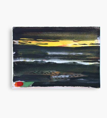 Dark Landscape Canvas Print