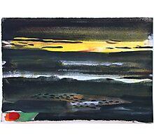 Dark Landscape Photographic Print