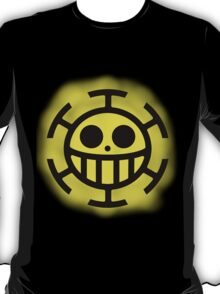 Heart Pirates Logo (Blurred Background) T-Shirt