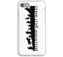 The Fellowship of Silly Walks iPhone Case/Skin