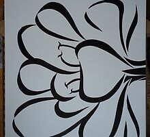 Sumi Flower by moon-berry