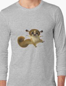 Madagascar Lemur Funny Cute Long Sleeve T-Shirt