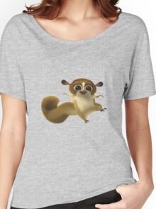 Madagascar Lemur Funny Cute Women's Relaxed Fit T-Shirt
