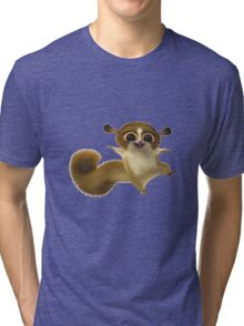 Madagascar Lemur Funny Cute Tri-blend T-Shirt