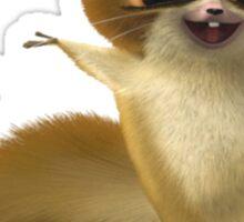Madagascar Lemur Funny Cute Sticker