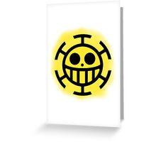 Heart Pirates Logo (Blurred Background) Greeting Card