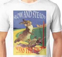 The hare and the tortoise. Unisex T-Shirt