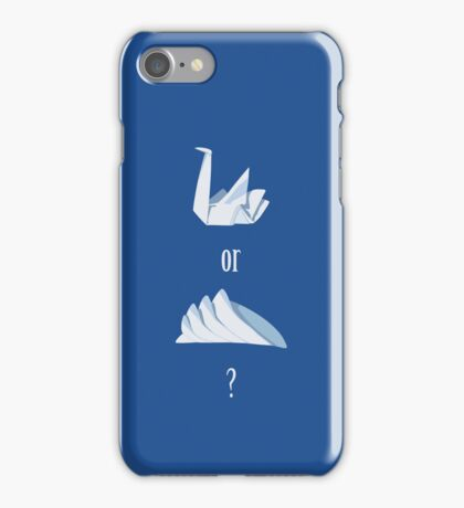 Swan or Sydney Opera House? iPhone Case/Skin