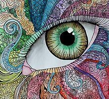 Zentangle Eye by Maddy Storm