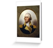 General Washington Greeting Card