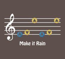 Make it Rain by squidyes