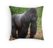 The Gorilla  Throw Pillow