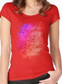 joy at play Women's Fitted Scoop T-Shirt