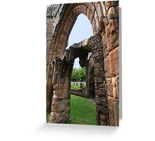 Elgin Arches Greeting Card