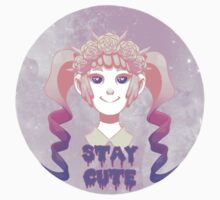 Stay Cute Sticker by Jessapocolypse