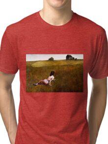 Christina's World Tri-blend T-Shirt