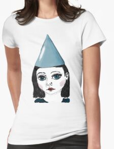 Lonely Girl has a party Womens Fitted T-Shirt