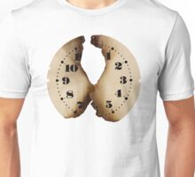 burned clock face Unisex T-Shirt