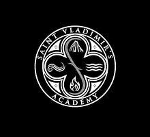 Vampire Academy logo black by anyaquamarine