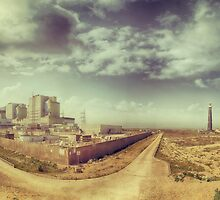 Dungeness Power Station and Lighthouse by Nikki Smith