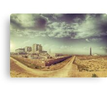 Dungeness Power Station and Lighthouse Canvas Print