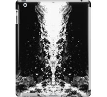 The Face in the Waterfall iPad Case/Skin