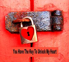 Padlocked Heart by Artisimo