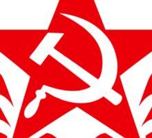 Soviet Hammer and Sickle Emblem Stickers Sticker