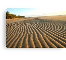Sand Corrugations Canvas Print