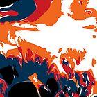 Alien Antarctic Wave by RocketmanTees