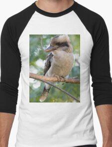 My old friend the kookaburra Men's Baseball ¾ T-Shirt