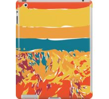 Alien Antarctic Mountainscape iPad Case/Skin
