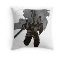 Death and Rebirth Throw Pillow