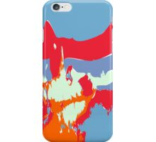 Abstract alien Antarctic Sunrise iPhone Case/Skin