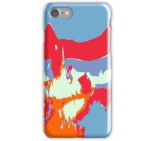 Abstract alien Antarctic Sunrise iPhone Case/Skin