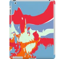 Abstract alien Antarctic Sunrise iPad Case/Skin