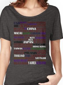 hetalia || characters Women's Relaxed Fit T-Shirt