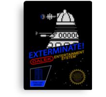 NINTENDO: NES EXTERMINATE! Canvas Print
