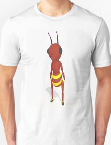 Cartoon Ant Low Poly Style T-Shirt