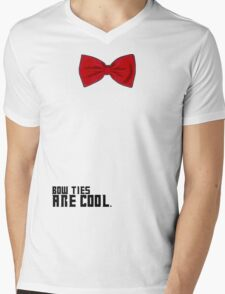 Bow Ties are Cool!  Mens V-Neck T-Shirt