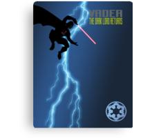 Vader - The Dark Lord Returns Canvas Print