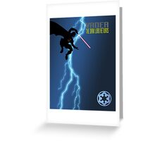 Vader - The Dark Lord Returns Greeting Card