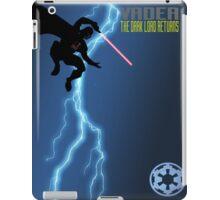 Vader - The Dark Lord Returns iPad Case/Skin