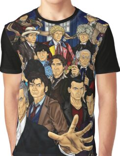 The 12 Doctors Graphic T-Shirt