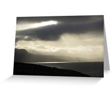 Summer Isle's storm Scotland Greeting Card
