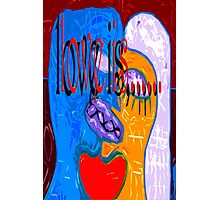 LOVE IS 2 Photographic Print